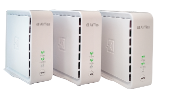 AirTies Air 4920 mesh networks work perfectly with EyeSaaS Pearl.